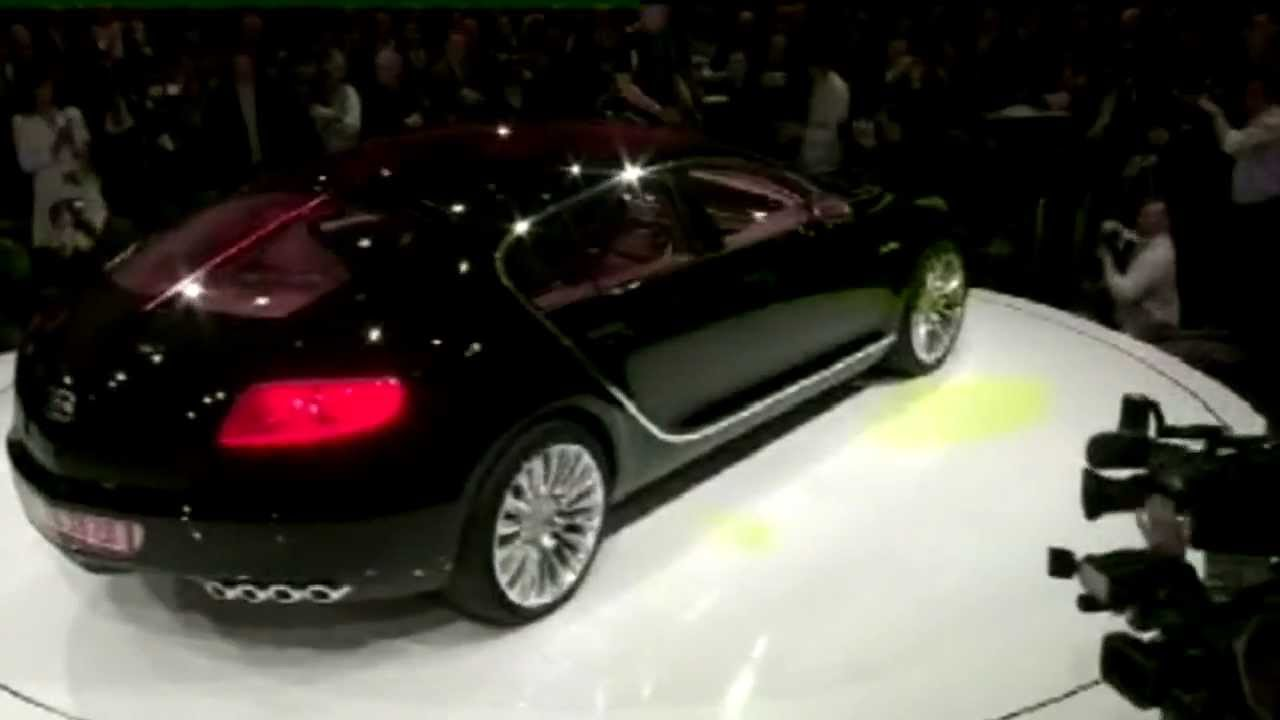 Bugatti 16C Galibier concept show [HD] - YouTube