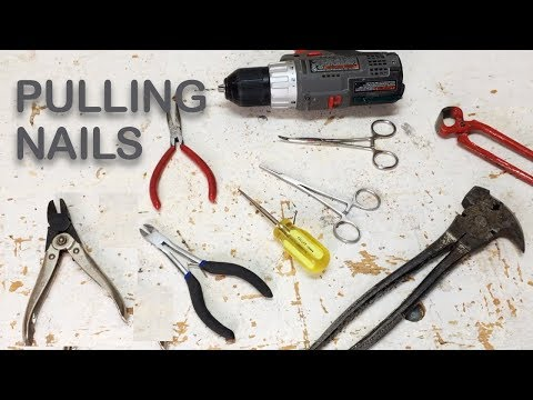 How to Remove Finishing Nails and Brad Nails | Woodworking & DIY