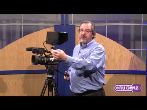 JVC GY-HM600U ProHD Camcorder & DTX71F Monitor Overview | Full Compass