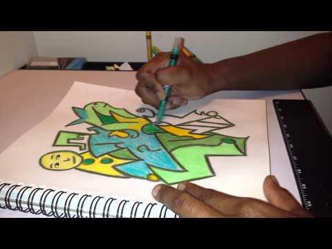 Abstract drawing #1