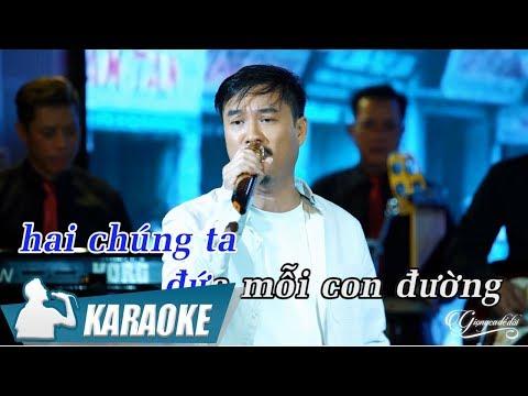 Mình Nhớ Nhau Không Karaoke Quang Lập (Tone Nam) | Nhạc Vàng Bolero Karaoke