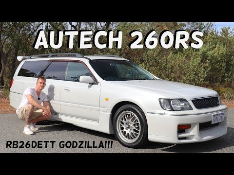 Nissan Stagea Autech 260RS Review! RB26 GTR WAGON!!