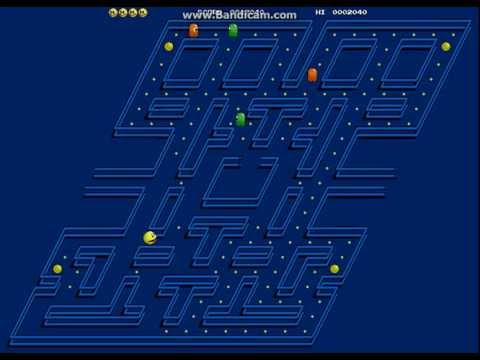 3D PacMan  Flash Game