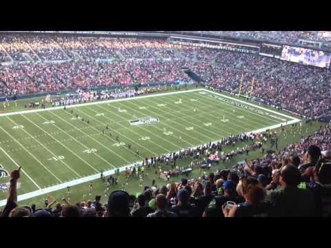 2013 Seattle Seahawks kickoff vs the Denver Broncos