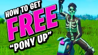 How To Get 'Pony Up' FREE In Season 10 | Fortnite How To