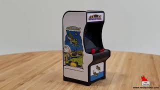 Tiny Arcade Galaxian Cabinet Video Game Review