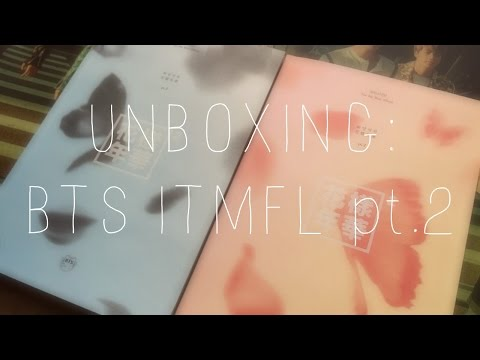 Album Unboxing : BTS In the Mood For Love 화양연화 pt.2