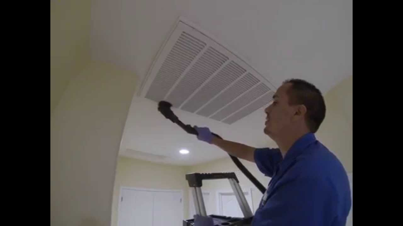 Joe Filter Hepa Vacuum Hvac Return Grille Cleaning Youtube