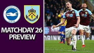 Brighton v. Burnley | PREMIER LEAGUE MATCH PREVIEW | 2/9/19 | NBC Sports