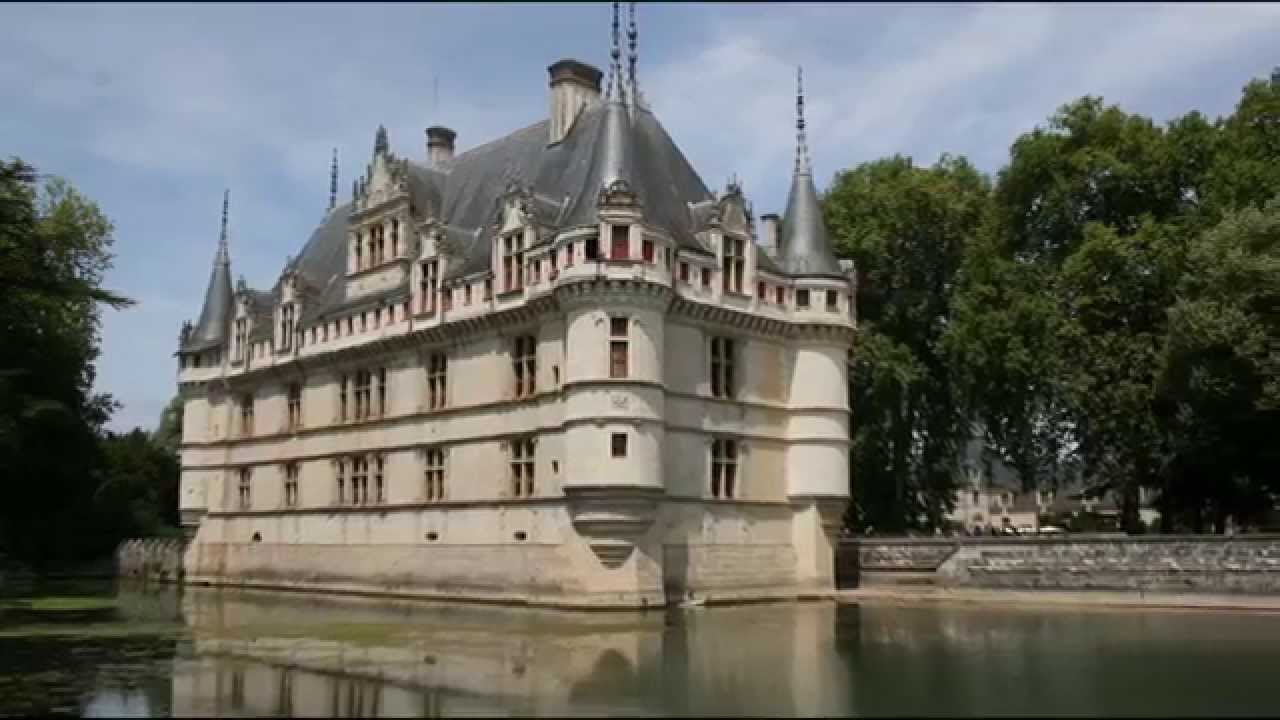 azay le rideau indre et loire youtube. Black Bedroom Furniture Sets. Home Design Ideas