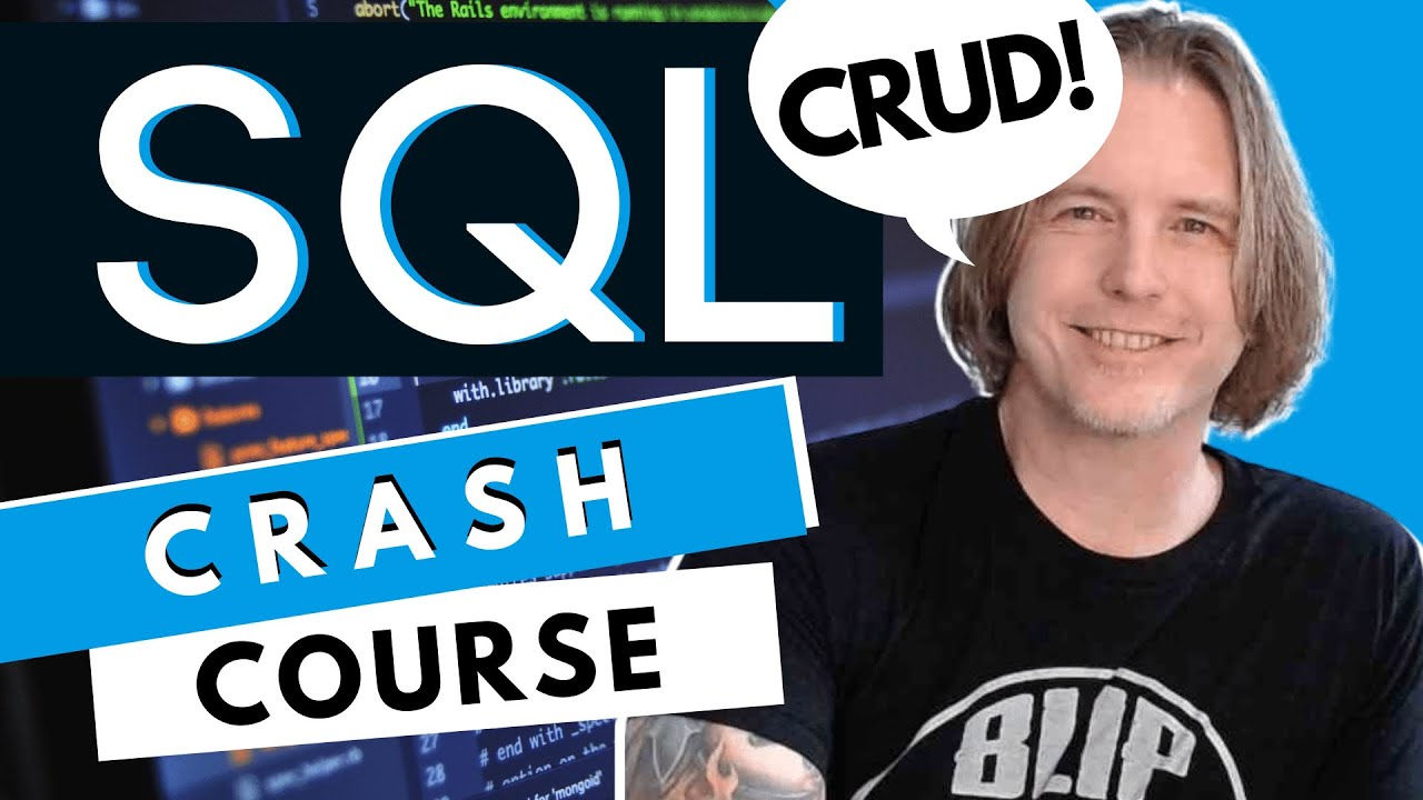 SQL Crash Course: CRUD Operations   10 Step MySQL Tutorial