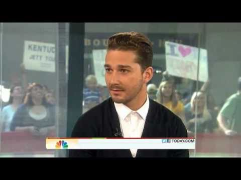 SHIA LABEOUF Interview - TODAY Show 2011 - Transformers 3