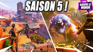 Summary of Season 5 of Fortnite Save the World!
