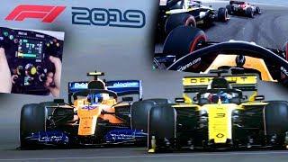 F1 2019: NUOVO CASCO - PERICOLO RICCIARDO