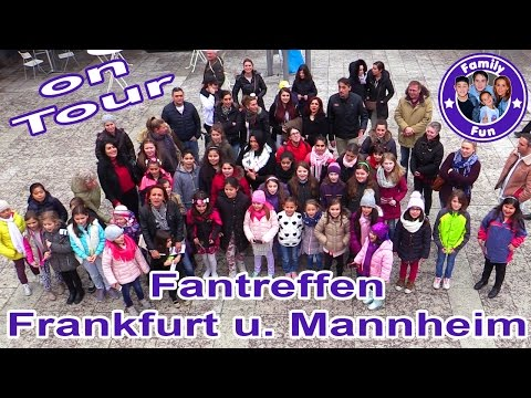 Family Fun ON TOUR - FANTREFFEN FRANKFURT MANNHEIM Tag 5 | Vlog follow me