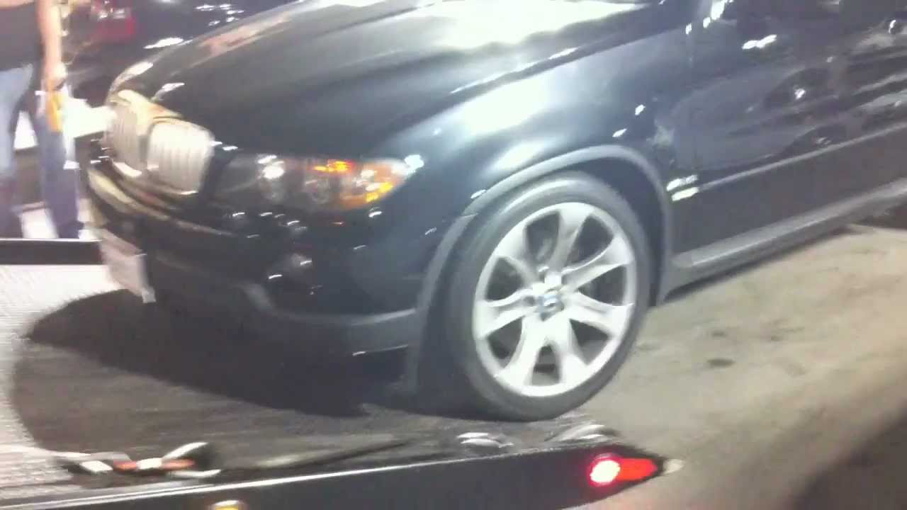 Bmw X5 4 8is Air Suspension Broken Youtube