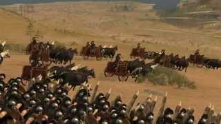 Rome 2 Total war Epic Cinematic Land Battle - Myrmidons VS Imortals