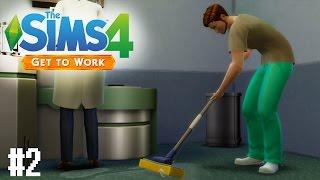 Sims 4: Get to Work Oynayalım! (Bölüm 2) - Bize Yer Sildirdiler :(