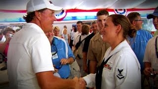 Phil Mickelson always a class act