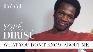 Ṣọpẹ́ Dìrísù: What you don't know about me | Bazaar UK