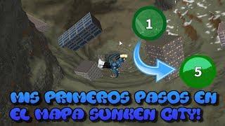 MIS PRIMEROS PASOS EN EL MAPA SUNKEN CITY!!! | Roblox: Broken Bones lV Español