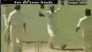 Wasim Akram vs Rahul Dravid Ball of Century CRICKET