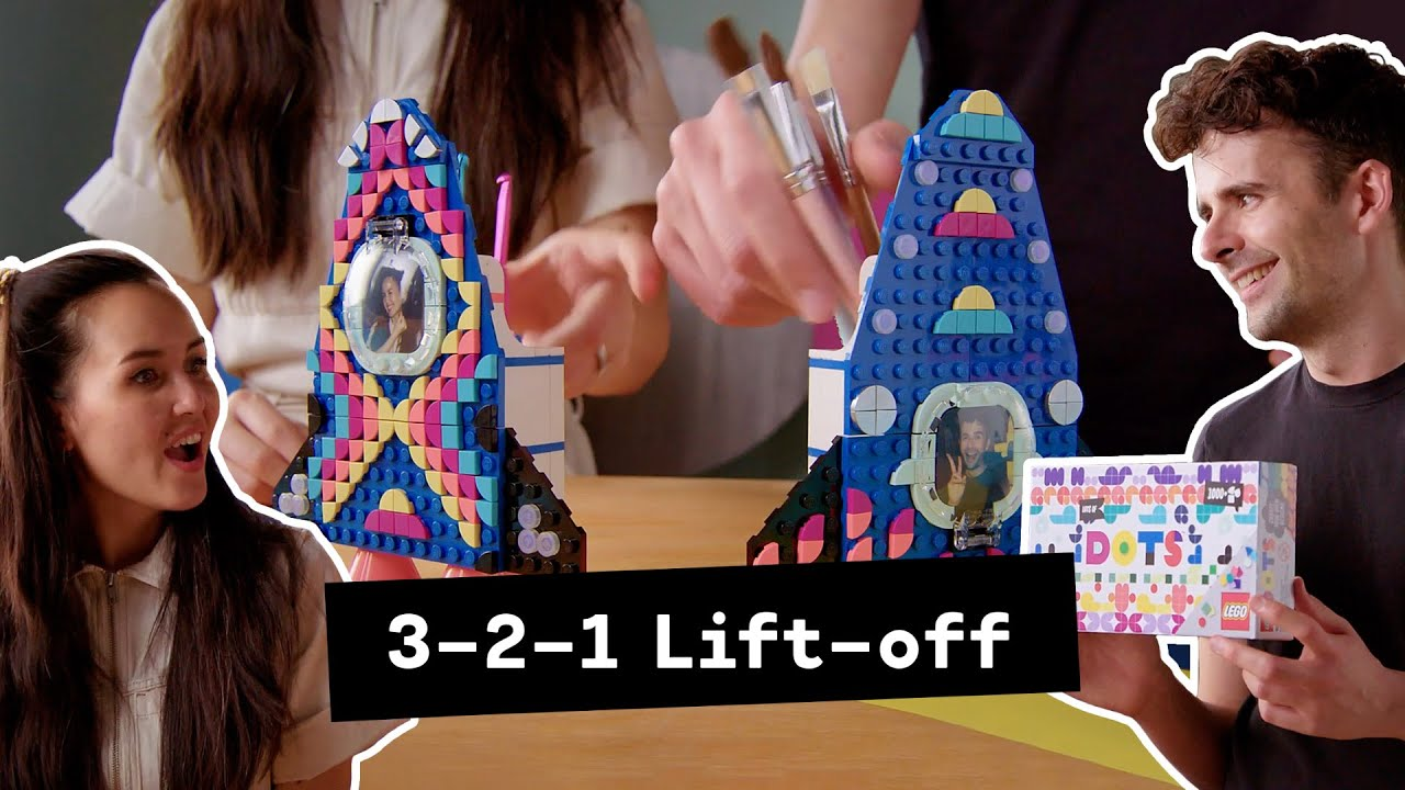 Watch LEGO designers get creative with the new LEGO DOTS Rocket – Designer Video