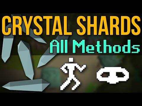 BEST Crystal Shards? ALL Methods Tested (OSRS)