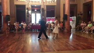 Marianne et Mauricio à Aix les Bains Tango Festival 1