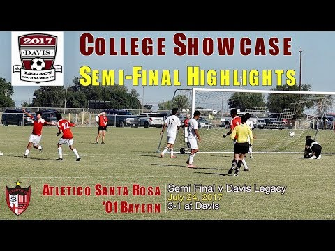 2017 7 24 Davis College Showcase ASR Bayern Semi Final v Davis HIGHLIGHTS