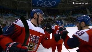 JO 2018 : Hockey sur glace - Hommes. La République Tchèque bat la Suisse et se qualifie en quarts !