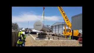 Above Ground Storage Tank Installation