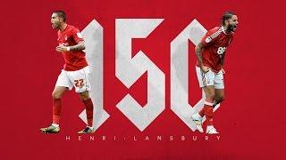 Lansbury reaches 150 appearances