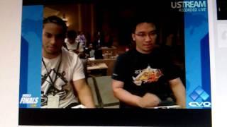 EVO 2010 Semi's Rico Sauve {Abel} VS Henry Cen {Honda}