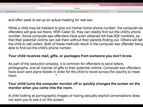 Intro to fbi parent's guide