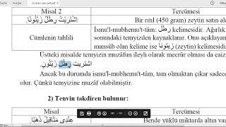 İst Üni  #İLİTAM  #Arapça 1 / 13.Ünite /