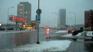 Kauno street, Klaipėda, Lithuania, European Union. 17:15, February 12th, 2009.