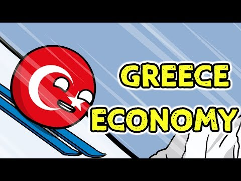 Floor is lava | Greece economy - Countryballs