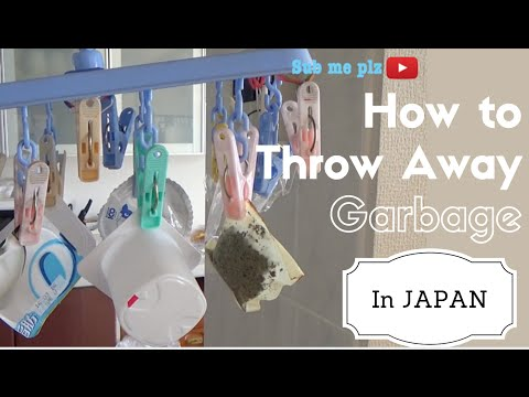 How to Throw Away Garbage in Japan | Eco-Friendly Living Style in Japan