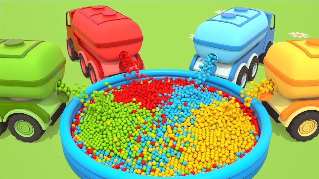 Download I Grandi Veicoli da Lavoro: Pesci   Cartoni per Bambini