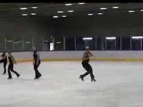 Synchronized Skating Team UNITED ANGELS Stuttgart Germany 07