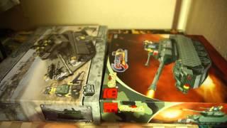 Военный конструктор Brick vs Sluban - Обзор игрушек