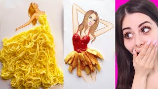 Dresses made from FOOD you can actually wear !