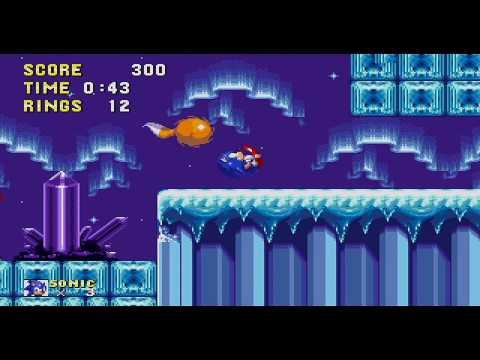 Sonic 2 Advanced Edit  - Crystal Cavern 2