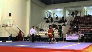 Wushu Hakan Uzun Türkiye Maç 1. 2012