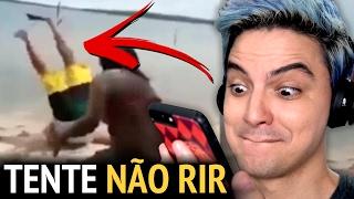DESAFIO TENTE NÃO RIR - A VÉIA GROSSA