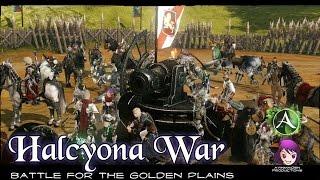 ★ ArcheAge ★ - Halcyona War (Battle for the Golden Plains)