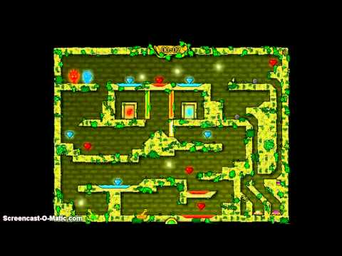 CoolMath Games: FireBoy & WaterGirl In The Forest Temple W/ Kamon Part 2