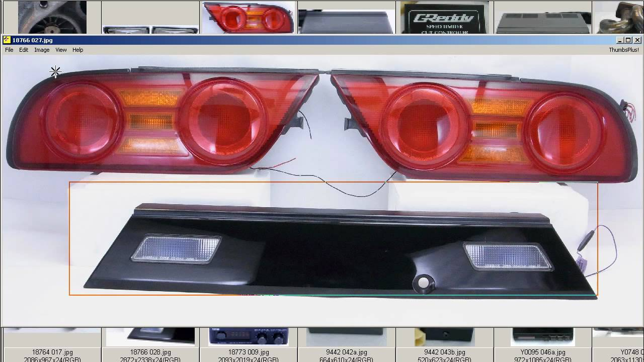 Rps13 S13 Kouki Tail Lights Taillights Garnish Sr20det