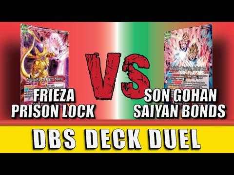 Son Gohan (R/G) Vs Frieza Prison (R) | DBS Deck Duel